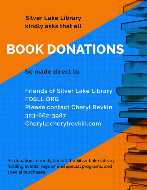 Silver Lake Bookstore Book Donations